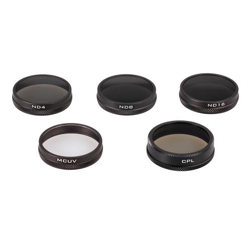 PGYTECH Camera Lens Filter set MC-UV ND4 ND8 ND16 CPL HD Lens with PU Bag for DJI Phantom 3 4 Quadcopter DroneToys &amp; Hobbies<br>PGYTECH Camera Lens Filter set MC-UV ND4 ND8 ND16 CPL HD Lens with PU Bag for DJI Phantom 3 4 Quadcopter Drone<br>