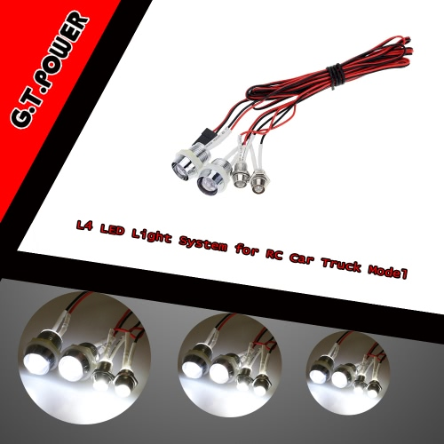 G.T.POWER L4 LED Light System for RC Car Truck ModelToys &amp; Hobbies<br>G.T.POWER L4 LED Light System for RC Car Truck Model<br>