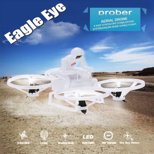 Create Toys E902 2.4G 4CH Six-axis Gyro Prober Aerial Drone 3D Flips CF Mode Auto-return RTF RC QuadcopterToys &amp; Hobbies<br>Create Toys E902 2.4G 4CH Six-axis Gyro Prober Aerial Drone 3D Flips CF Mode Auto-return RTF RC Quadcopter<br>