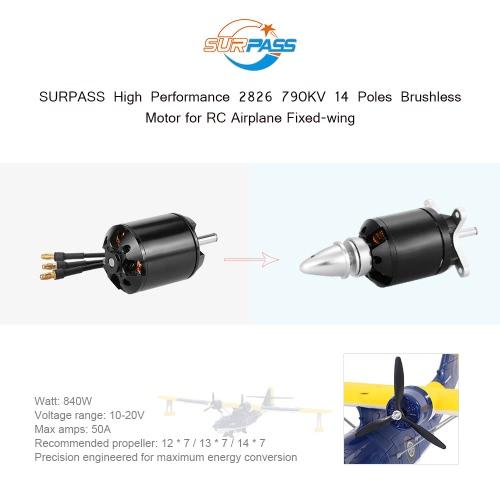 Original SURPASS High Performance 2826 790KV 14 Poles Brushless Motor for RC Airplane Fixed-wingToys &amp; Hobbies<br>Original SURPASS High Performance 2826 790KV 14 Poles Brushless Motor for RC Airplane Fixed-wing<br>