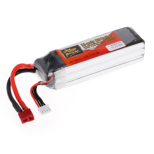 ZOP Power 3S 11.1V 3000mAh 60C High Rate LiPo Battery T PlugToys &amp; Hobbies<br>ZOP Power 3S 11.1V 3000mAh 60C High Rate LiPo Battery T Plug<br>