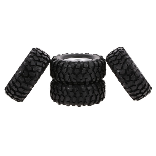 4PCS 1/10 RC Buggy Tyre Y Spokes Rim for 1/10 HSP Redcat Traxxas Axial SCX10 RC4WD D90 CC01 RC Rock Crawler