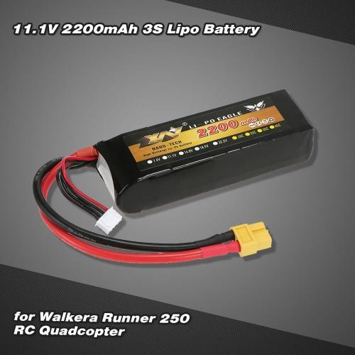 11.1V 2200mAh 3S Lipo Battery for Walkera Runner 250 RC QuadcopterToys &amp; Hobbies<br>11.1V 2200mAh 3S Lipo Battery for Walkera Runner 250 RC Quadcopter<br>