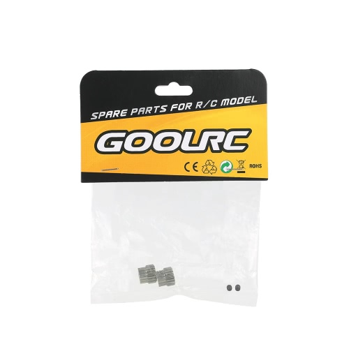 GoolRC 2Pcs 48DP 3.175mm 17T Pinion Motor Gear for RC Car Brushed Brushless MotorToys &amp; Hobbies<br>GoolRC 2Pcs 48DP 3.175mm 17T Pinion Motor Gear for RC Car Brushed Brushless Motor<br>