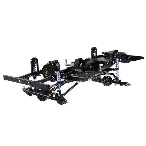 AX-D9001 All metal CNC Frame for 1/10 D90 Rock Crawler RC Car KIT Version with Transfer Case Differential Gear Box Receiver Hide EToys &amp; Hobbies<br>AX-D9001 All metal CNC Frame for 1/10 D90 Rock Crawler RC Car KIT Version with Transfer Case Differential Gear Box Receiver Hide E<br>