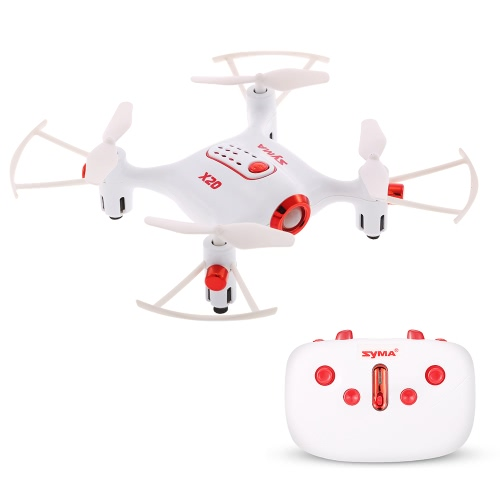 Original Syma X20 2.4G 4CH 6-axis Gyro Pocket Drone RC Quacopter RTF with Headless Mode Altitude Hold 3D-flip FunctionToys &amp; Hobbies<br>Original Syma X20 2.4G 4CH 6-axis Gyro Pocket Drone RC Quacopter RTF with Headless Mode Altitude Hold 3D-flip Function<br>
