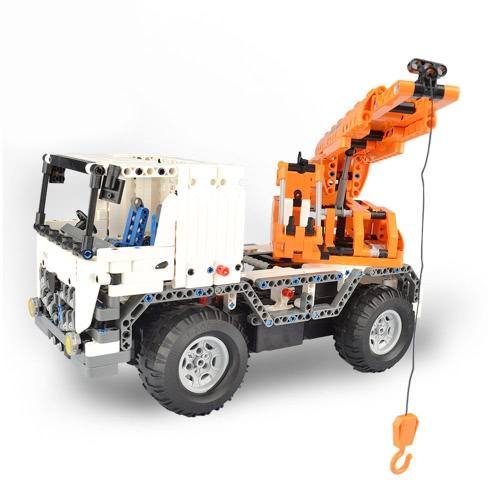 838Pcs Double E C51013W 2 in 1 RC Mobile Crane Building Blocks Kits 2.4G Engineering Model DIY Construction ToysToys &amp; Hobbies<br>838Pcs Double E C51013W 2 in 1 RC Mobile Crane Building Blocks Kits 2.4G Engineering Model DIY Construction Toys<br>