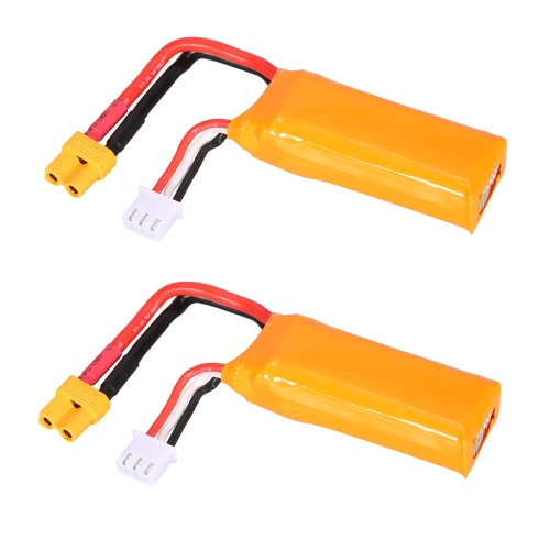 2 Pcs Original GoolRC 7.4V 2S 450mAh LiPo Battery XT30 Plug for GoolRC G90 Pro Tiny Micro 80 90 100 FPV Racing QuadcopterToys &amp; Hobbies<br>2 Pcs Original GoolRC 7.4V 2S 450mAh LiPo Battery XT30 Plug for GoolRC G90 Pro Tiny Micro 80 90 100 FPV Racing Quadcopter<br>
