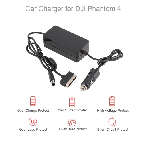 2 in 1 6A Large Current Outdoor Car Charger for DJI Phantom 4 / 4 Pro Advanced FPV Drone QuadcopterToys &amp; Hobbies<br>2 in 1 6A Large Current Outdoor Car Charger for DJI Phantom 4 / 4 Pro Advanced FPV Drone Quadcopter<br>