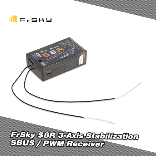 Original FrSky S8R 3-Axis Gyro 16CH SBUS PWM RSSI 2.4G Receiver for 210 250 FPV Racing Quadcopter Airplane Glider X9D PlusToys &amp; Hobbies<br>Original FrSky S8R 3-Axis Gyro 16CH SBUS PWM RSSI 2.4G Receiver for 210 250 FPV Racing Quadcopter Airplane Glider X9D Plus<br>