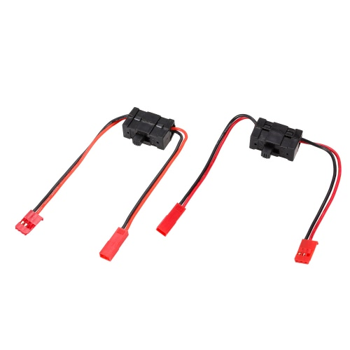 2pcs Power Switch with JST Connector for HSP Traxxas 1/8 1/10 RC Car and BoatToys &amp; Hobbies<br>2pcs Power Switch with JST Connector for HSP Traxxas 1/8 1/10 RC Car and Boat<br>