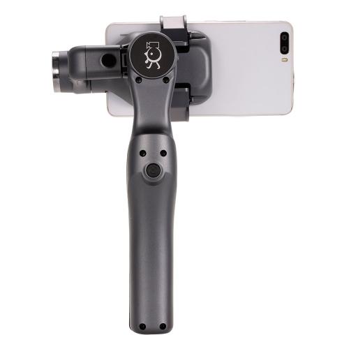JJ-1S 2-Achsen Brushless Hand Gimbal Tray Stabilisator mit Mount Plate Adapter für Smartphone GoPro Hero 5/4/3 Kamera