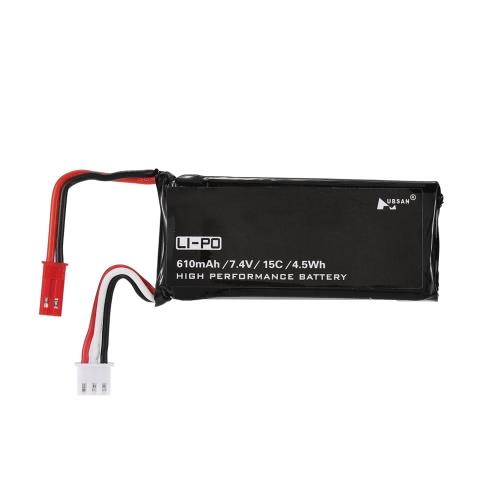 Original Hubsan H502-16 7.4V 610mAh 15C Lipo Battery for Hubsan X4 H502S H502E RC QuadcopterToys &amp; Hobbies<br>Original Hubsan H502-16 7.4V 610mAh 15C Lipo Battery for Hubsan X4 H502S H502E RC Quadcopter<br>