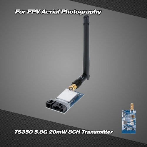 TS350 5.8G 20mW 8CH Wireless AV Transmitter for FPV Aerial PhotographyToys &amp; Hobbies<br>TS350 5.8G 20mW 8CH Wireless AV Transmitter for FPV Aerial Photography<br>