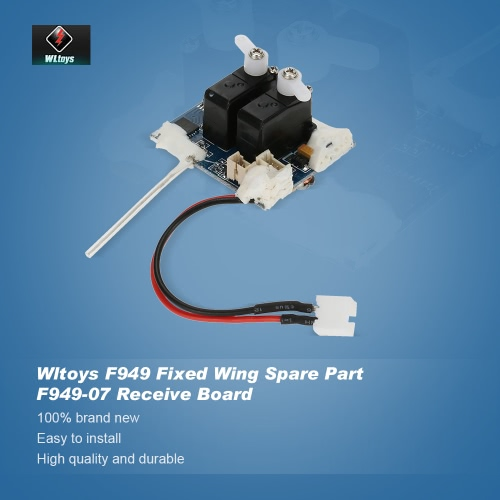Original Wltoys RC Aircraft Spare Part F949-07 Receive Board for Wltoys F949 Fixed Wing RC AircraftToys &amp; Hobbies<br>Original Wltoys RC Aircraft Spare Part F949-07 Receive Board for Wltoys F949 Fixed Wing RC Aircraft<br>