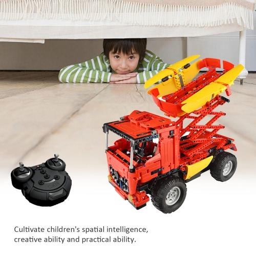 814Pcs Double E C51014W 2 in 1 RC Mixer Truck Building Blocks Kits 2.4G Engineering Model DIY Construction ToysToys &amp; Hobbies<br>814Pcs Double E C51014W 2 in 1 RC Mixer Truck Building Blocks Kits 2.4G Engineering Model DIY Construction Toys<br>