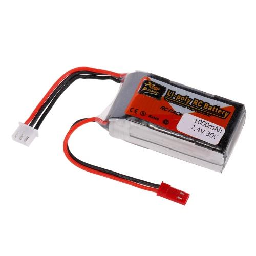 ZOP Power 2S 7.4V 1000mAh 30C LiPo Battery JST PlugToys &amp; Hobbies<br>ZOP Power 2S 7.4V 1000mAh 30C LiPo Battery JST Plug<br>