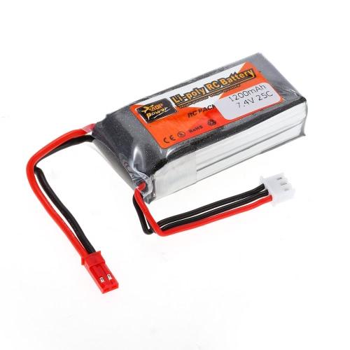 ZOP Power 2S 7.4V 1200mAh 25C JST Plug LiPo Battery JST PlugToys &amp; Hobbies<br>ZOP Power 2S 7.4V 1200mAh 25C JST Plug LiPo Battery JST Plug<br>