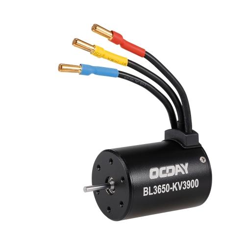 OCDAY 3650 3900KV Brushless Sensorless Motor for 1/10 RC Car TruckToys &amp; Hobbies<br>OCDAY 3650 3900KV Brushless Sensorless Motor for 1/10 RC Car Truck<br>