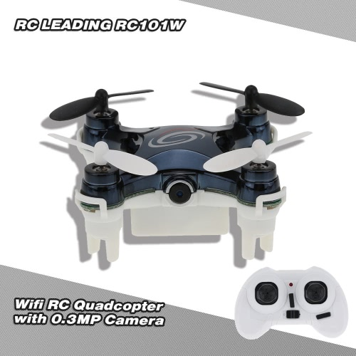 RC LEADING RC101W WIFI 4CH 6 Axis Gyro RC Quadcopter with 0.3MP CameraToys &amp; Hobbies<br>RC LEADING RC101W WIFI 4CH 6 Axis Gyro RC Quadcopter with 0.3MP Camera<br>