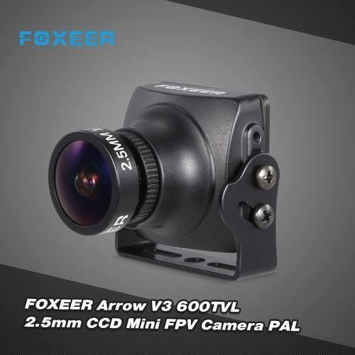 FOXEER Arrow V3 HS1195 600TVL 2.5mm IR Block CCD Mini FPV Camera PAL Built-in OSD for QAV250 180 Racing Drone Aerial PhotographyToys &amp; Hobbies<br>FOXEER Arrow V3 HS1195 600TVL 2.5mm IR Block CCD Mini FPV Camera PAL Built-in OSD for QAV250 180 Racing Drone Aerial Photography<br>