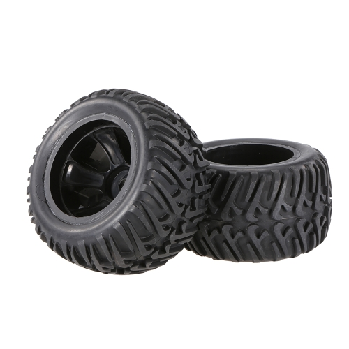 2pcs 2.67 Inch 124mm Rock Crawler Monster Truck Wheel Rim and Tire for 1/10 HSP HPI ZD Racing RC CarToys &amp; Hobbies<br>2pcs 2.67 Inch 124mm Rock Crawler Monster Truck Wheel Rim and Tire for 1/10 HSP HPI ZD Racing RC Car<br>