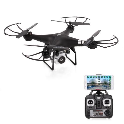 Original HR SH5HD 2.4G 4CH 0.3MP Camera Wifi FPV Drone Height Hold Headless Mode One Key Return RC Quadcopter