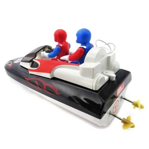 Flytec  HQ2011-15B Mini Infrared Control Boat 10km/h Super Speed Electric RC Ship Toys