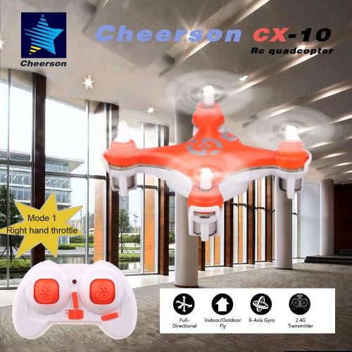Original Mode 1 Cheerson CX-10 2.4G 6-Axis Gyro RTF Mini DroneToys &amp; Hobbies<br>Original Mode 1 Cheerson CX-10 2.4G 6-Axis Gyro RTF Mini Drone<br>