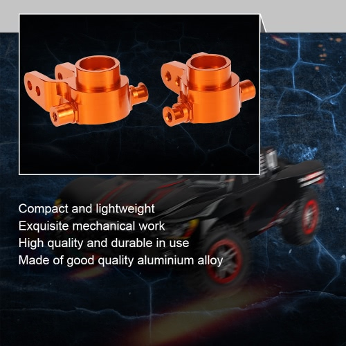SLA002 Aluminum Alloy Steering Hub Carrier(L/R) for 1/10 TRAXXAS SLASH 4x4 RC CarToys &amp; Hobbies<br>SLA002 Aluminum Alloy Steering Hub Carrier(L/R) for 1/10 TRAXXAS SLASH 4x4 RC Car<br>