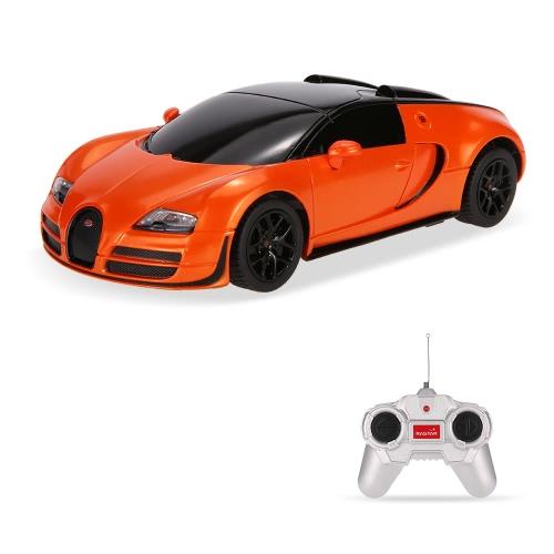 RASTAR 47000 27MHz R/C 1/24 Bugatti Grand Sport Vitesse Radio Remote Control Model CarToys &amp; Hobbies<br>RASTAR 47000 27MHz R/C 1/24 Bugatti Grand Sport Vitesse Radio Remote Control Model Car<br>