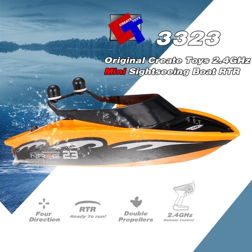 Original Create Toys Sea Wing Star 3323 2.4GHz Mini Radio Control Electric Sightseeing Boat RTRToys &amp; Hobbies<br>Original Create Toys Sea Wing Star 3323 2.4GHz Mini Radio Control Electric Sightseeing Boat RTR<br>