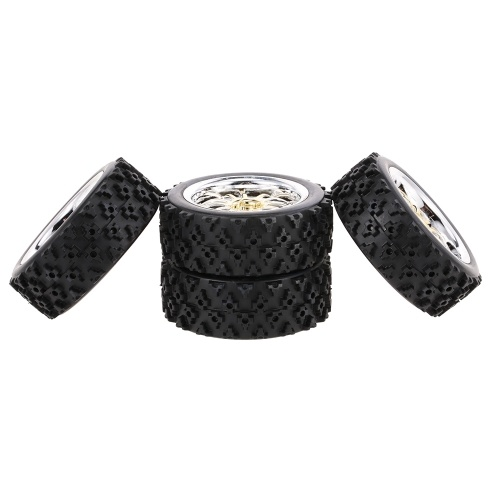 4PCS 1/10 RC On-road Tyre Star Tread Pattern for 1/10 HSP Redcat Traxxas Tamiya HPI RC Buggy