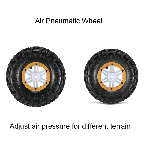 Original Austar AX-3024GD Air Pneumatic Beadlock Wheel Rim and Tire for 1/10 HSP HPI Tamiya Monster TruckToys &amp; Hobbies<br>Original Austar AX-3024GD Air Pneumatic Beadlock Wheel Rim and Tire for 1/10 HSP HPI Tamiya Monster Truck<br>