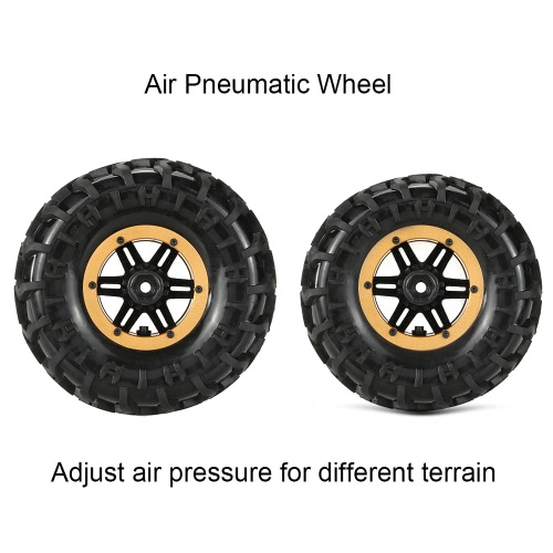 Original Austar AX-3023GD Air Pneumatic Beadlock Wheel Rim and Tire for 1/10 HSP Tamiya HPI Monster TruckToys &amp; Hobbies<br>Original Austar AX-3023GD Air Pneumatic Beadlock Wheel Rim and Tire for 1/10 HSP Tamiya HPI Monster Truck<br>