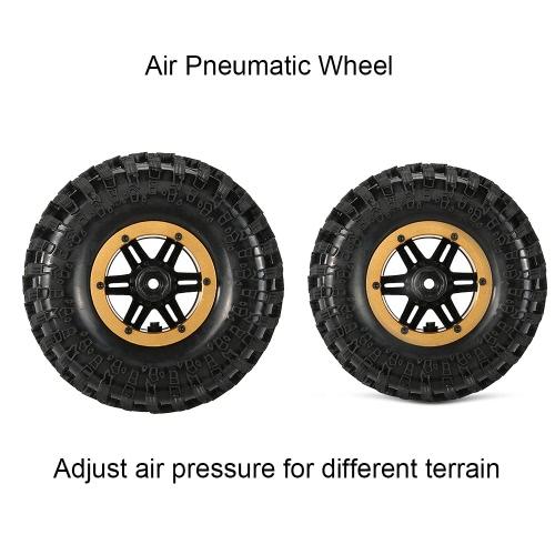 Original Austar AX-3021GD Air Pneumatic Beadlock Wheel Rim and Tire for for 1/10 RC4WD D90 Axial SCX10 Crawler TruckToys &amp; Hobbies<br>Original Austar AX-3021GD Air Pneumatic Beadlock Wheel Rim and Tire for for 1/10 RC4WD D90 Axial SCX10 Crawler Truck<br>