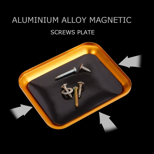 Aluminium Alloy Magnetic Screw Tray Plate for RC Crawler Car Boat Drone Quadcopter RC Model Repair ToolToys &amp; Hobbies<br>Aluminium Alloy Magnetic Screw Tray Plate for RC Crawler Car Boat Drone Quadcopter RC Model Repair Tool<br>