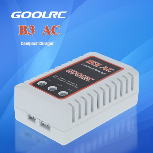 Original GoolRC B3 AC 2S 3S Compact Charger for RC Quadcopter RC Car Lipo BatteryToys &amp; Hobbies<br>Original GoolRC B3 AC 2S 3S Compact Charger for RC Quadcopter RC Car Lipo Battery<br>