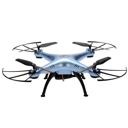 Original de la cámara de SYMA X5HW Wifi FPV 0.3MP HD RC Quadcopter con 360 ° Función eversión CF modo Hover