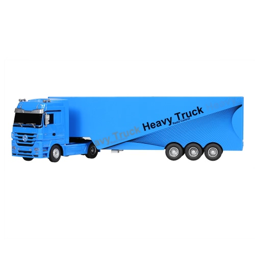RUICHUANG QY1101 1/32 2.4G Heavy Truck - BlueToys &amp; Hobbies<br>RUICHUANG QY1101 1/32 2.4G Heavy Truck - Blue<br>