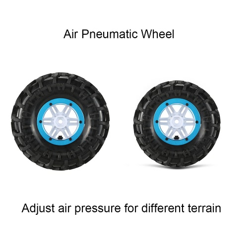 Original Austar AX-3024BU Air Pneumatic Beadlock Wheel Rim and Tire for 1/10 HSP HPI Tamiya Monster TruckToys &amp; Hobbies<br>Original Austar AX-3024BU Air Pneumatic Beadlock Wheel Rim and Tire for 1/10 HSP HPI Tamiya Monster Truck<br>