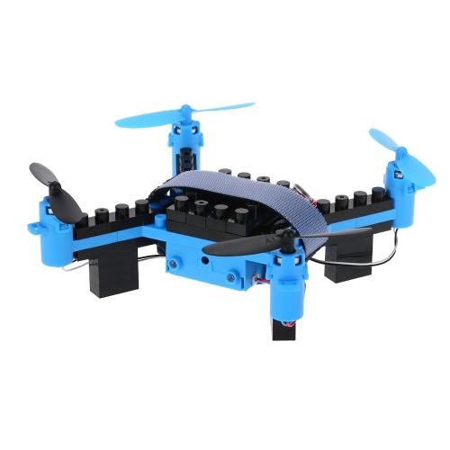 Original Flytec T11 2.4G 4CH Drone 3D flip Headless Mode DIY Building Block RC QuadcopterToys &amp; Hobbies<br>Original Flytec T11 2.4G 4CH Drone 3D flip Headless Mode DIY Building Block RC Quadcopter<br>