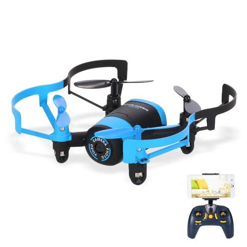 JXD 512W 2.4G RC Quadcopter 0.3MP Camera Selfie Drone - BlueToys &amp; Hobbies<br>JXD 512W 2.4G RC Quadcopter 0.3MP Camera Selfie Drone - Blue<br>