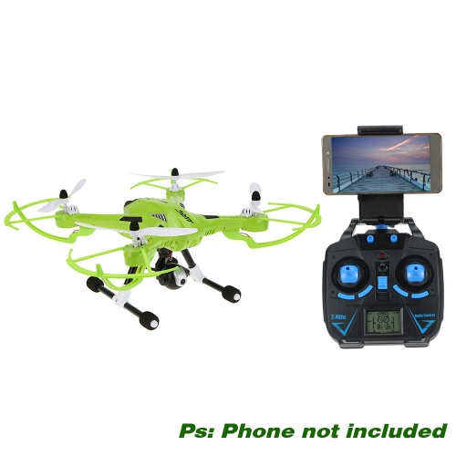 Original JJRC H26W 2.4G 4CH 6 Axis Gyro RC Quadcopter Wifi FPV Real-time Transmission Drone with 2.0MP HD CameraToys &amp; Hobbies<br>Original JJRC H26W 2.4G 4CH 6 Axis Gyro RC Quadcopter Wifi FPV Real-time Transmission Drone with 2.0MP HD Camera<br>
