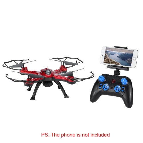 Original GoolRC T5W Wifi FPV 0.3MP Camera RC Quadcopter with One Key Return CF Mode 360° Eversion FunctionToys &amp; Hobbies<br>Original GoolRC T5W Wifi FPV 0.3MP Camera RC Quadcopter with One Key Return CF Mode 360° Eversion Function<br>