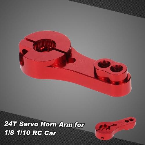 Aluminum 24T Servo Horn Arm for 1/8 1/10 RC CarToys &amp; Hobbies<br>Aluminum 24T Servo Horn Arm for 1/8 1/10 RC Car<br>