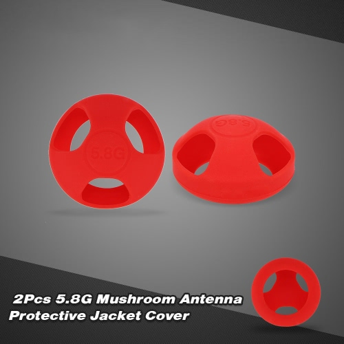 2Pcs 5.8G Mushroom Antenna Protective Jacket Cover for Fatshark Mushroom AntennaToys &amp; Hobbies<br>2Pcs 5.8G Mushroom Antenna Protective Jacket Cover for Fatshark Mushroom Antenna<br>