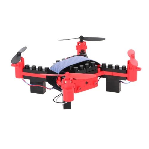 Flytec T11S Wifi FPV 0.3MP Camera Drone 3D flip Headless Mode DIY Building Block Altitude Hold G-sensor QuadcopterToys &amp; Hobbies<br>Flytec T11S Wifi FPV 0.3MP Camera Drone 3D flip Headless Mode DIY Building Block Altitude Hold G-sensor Quadcopter<br>