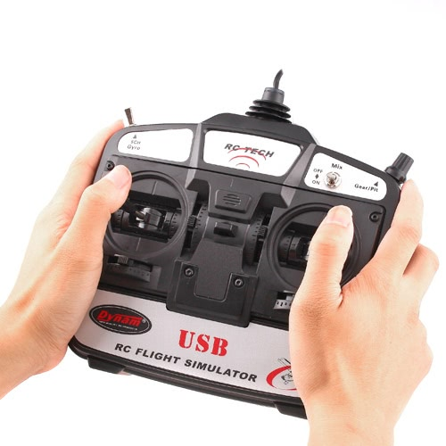 Buy 6 Channels RC Helicopter Flight Simulator