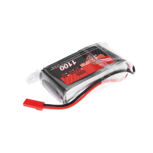 Wild Scorpion 7.4V 1100mAh 25C MAX 35C 2S JST Plug Li-po Battery for RC Car Airplane Blade CX Helicopter PartToys &amp; Hobbies<br>Wild Scorpion 7.4V 1100mAh 25C MAX 35C 2S JST Plug Li-po Battery for RC Car Airplane Blade CX Helicopter Part<br>
